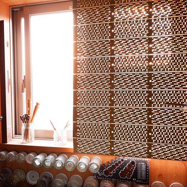 [ONPU project]西脇の大城戸織布さんとても素敵な工場で《ONPU》の布地が生まれます。来年1月の布博での新作販売楽しみにしていて下さい。(H)#poletopoletextile #textile #textiledesign #poletopole #jacquard #播州 #大城戸織布 #ジャカード #ONPUproject