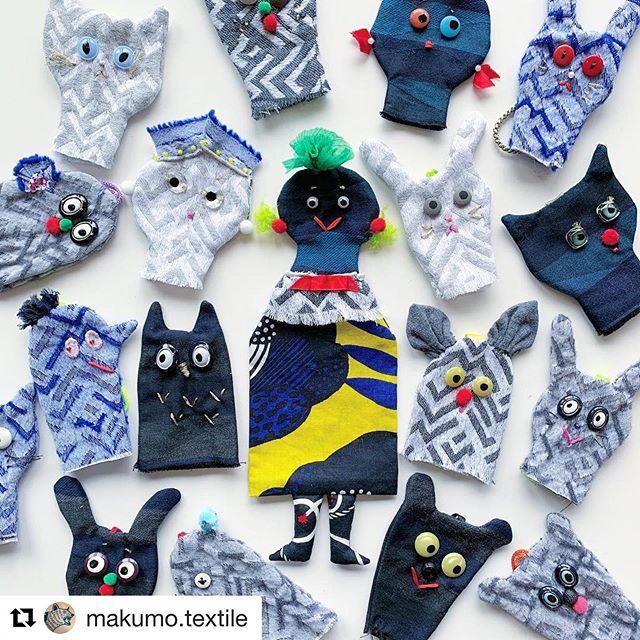 """今月の26日〜28日のマクモさん( @makumo.textile )の展示会では、ワークショップも開催されるようなので皆様どうぞお楽しみに〜!詳しくは、マクモさんのインスタをチェックしてみてください。どうぞよろしくお願いします。(K)#Repost @makumo.textile with @get_repost・・・「ポケットティッシュ・モンスター」WSを、初!【関西・神戸】【関東・東京】で開催!!!・・【関西・神戸】は、7/19(金).20(土).21(日).・【関東・東京】は、7/26(金).27(土).28(日)・※東京会場では、""""pole-pole""""のテキスタイルを使って作った特別バージョンを持って全日開催します。・(""""生地""""や""""ボタン""""、""""リボン""""たちの『アップサイクル』として始まったポケットテッシュ・モンスターに、pole-poleさんの嬉しいご協力頂きました!) #もったいないをカワイイへ・・『makumo POP UP 神戸』開催日:2019年7月15日(月・祝)〜21日(日)時間:11:30〜20:00会場:JUNK SHOP(神戸市中央区北長狭通3-11-15)・・『makumo 展示会〜これまでの柄をドドーン!と〜』開催日:2019年7月26日(金)〜28日(日)時間:12:00〜19:00会場:pole-pole LAB(ポールトゥポールラボ)東京都調布市西つつじヶ丘4-23-35-106・pole-pole LABは手紙舎さんのつつじヶ丘本店、katakataさんのある神代団地商店街の並びにあります。・・#makumo #ポケットテッシュモンスター #もったいないをカワイイへ #アップサイクル #upcycle"""